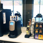 Coffee and tea bar, Ann Arbor Student Apartments - University Towers