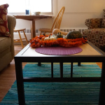 Pleasant Living Room Photo, Ann Arbor Student Apartments - University Towers