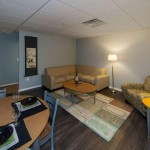 University Of Michigan Housing, Living Room Photo - University Towers