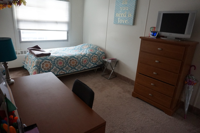 University Towers Bedroom