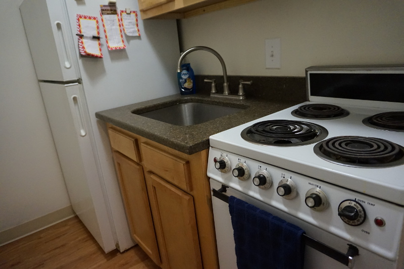 University Towers Remodeled Kitchen